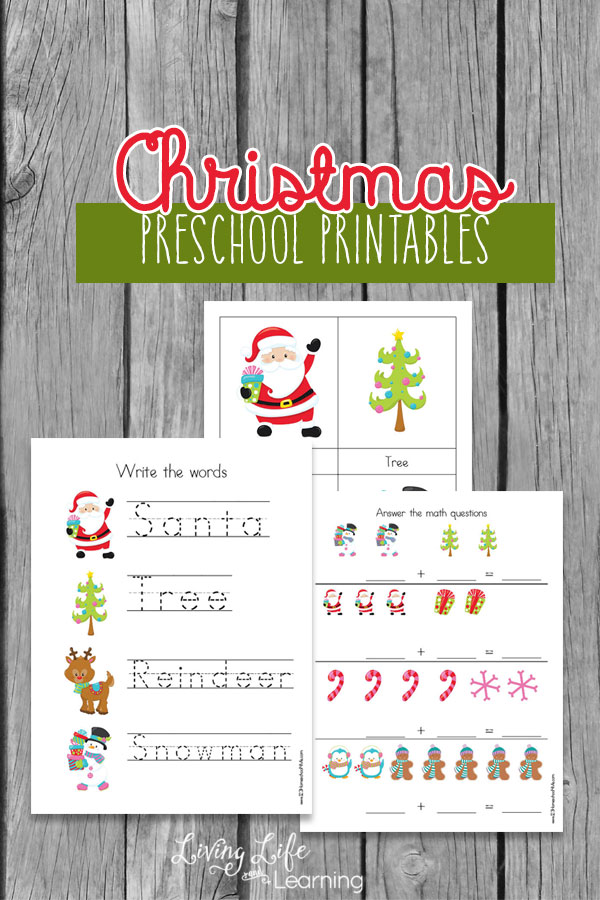 Christmas Preschool Printables