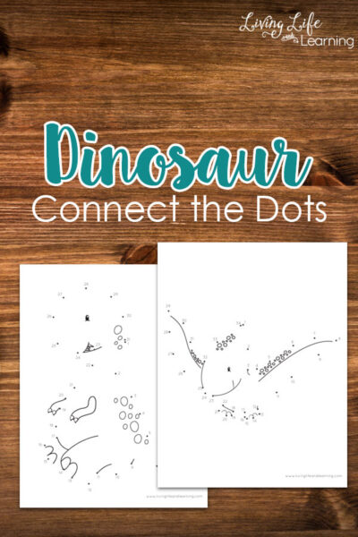 Dinosaur Connect the Dots Printable