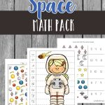 Space Math Pack for Preschool and Kindergarten