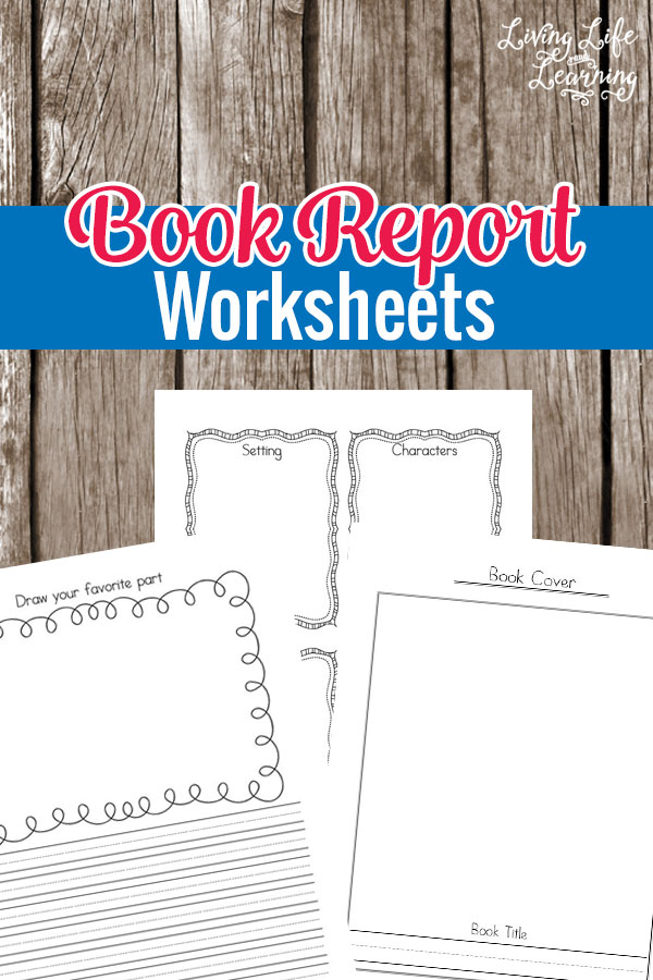 My Book Report Worksheets