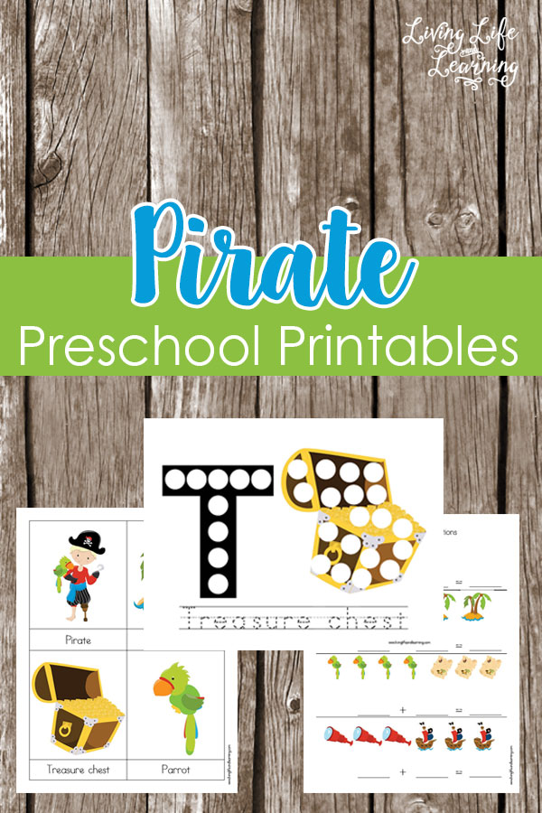 Pirate Preschool Printable