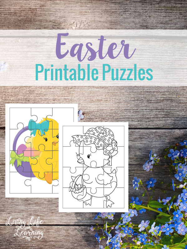 Easter Printable Puzzles