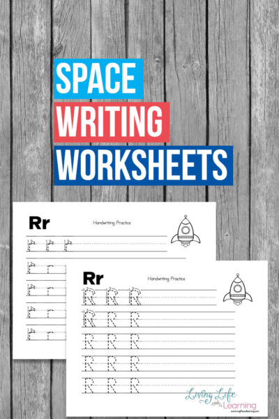 Space Writing Worksheets