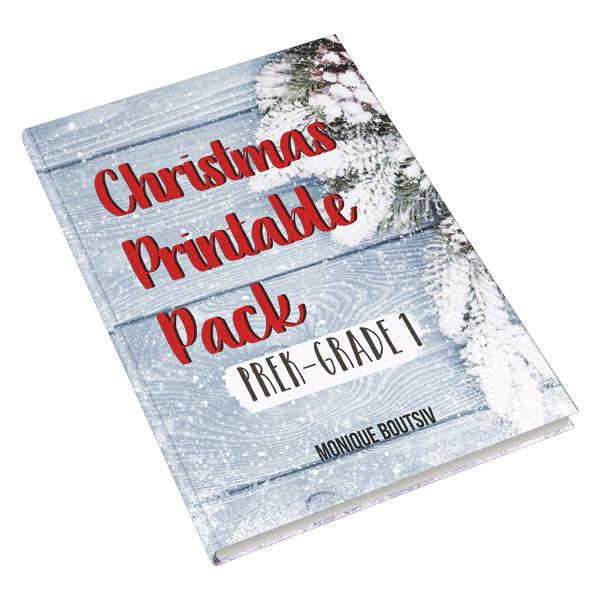 Fun Christmas printable pack for kids