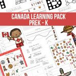 Canada Learning Pack - Preschool to Kindergarten