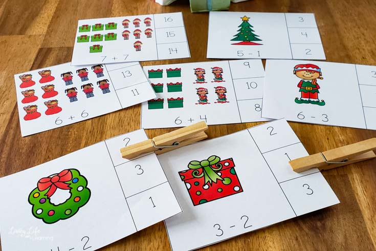 Christmas Counting Cards-1-2