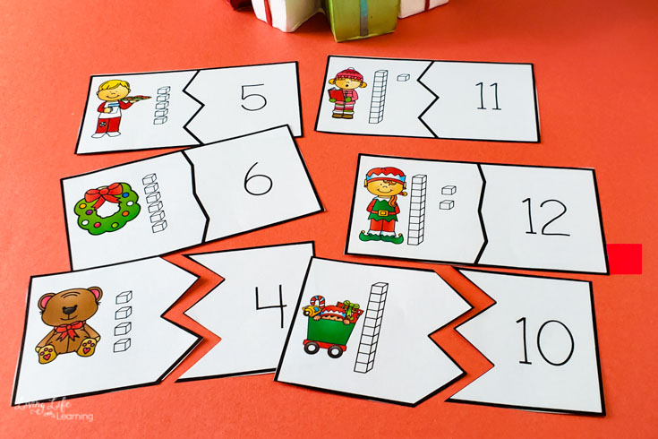 Christmas Place Value Puzzles-3