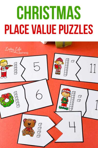 Learning about place values? Try these fun Christmas place value puzzles this holiday season to bring Christmas into your school room.