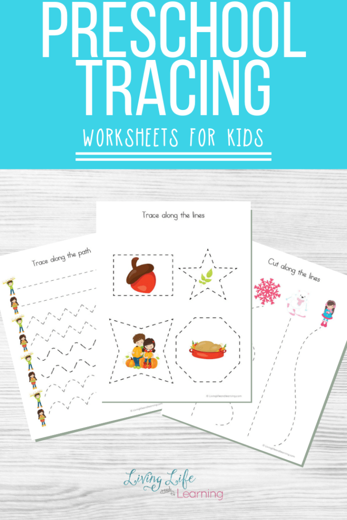 Preschool Tracing Worksheets