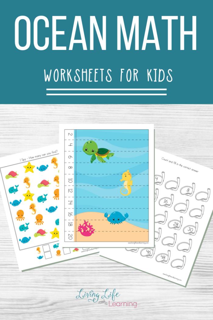 Ocean Math worksheets