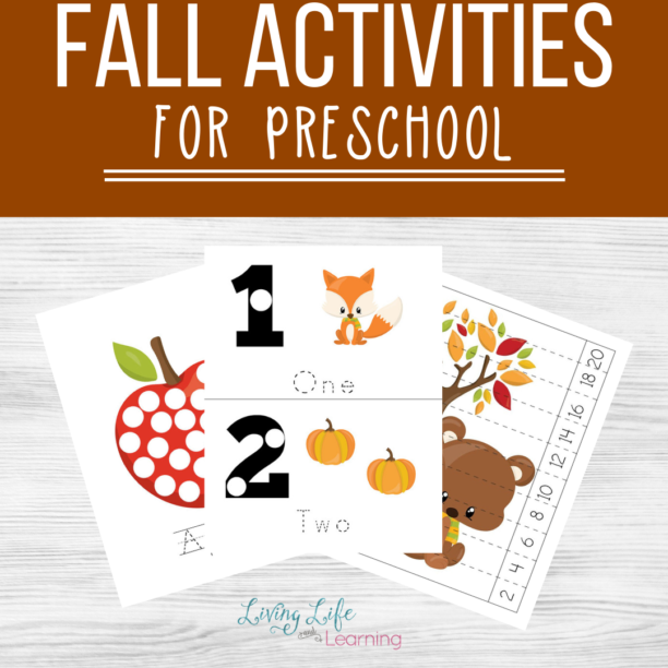 Fall themed activities for preschool