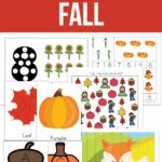 Little Learners Print & Go Activity Kit: Fall