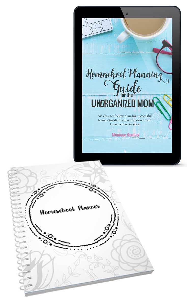 The Unorganized Mom Homeschool Planning Bundle