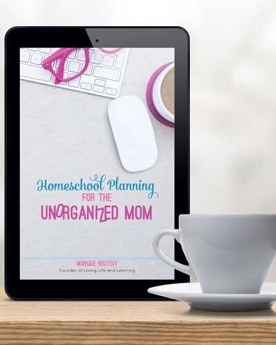 Homeschool Planning for the Unorganized Mom
