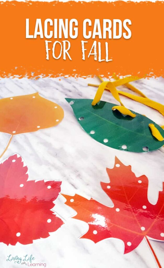Lacing Cards for Fall