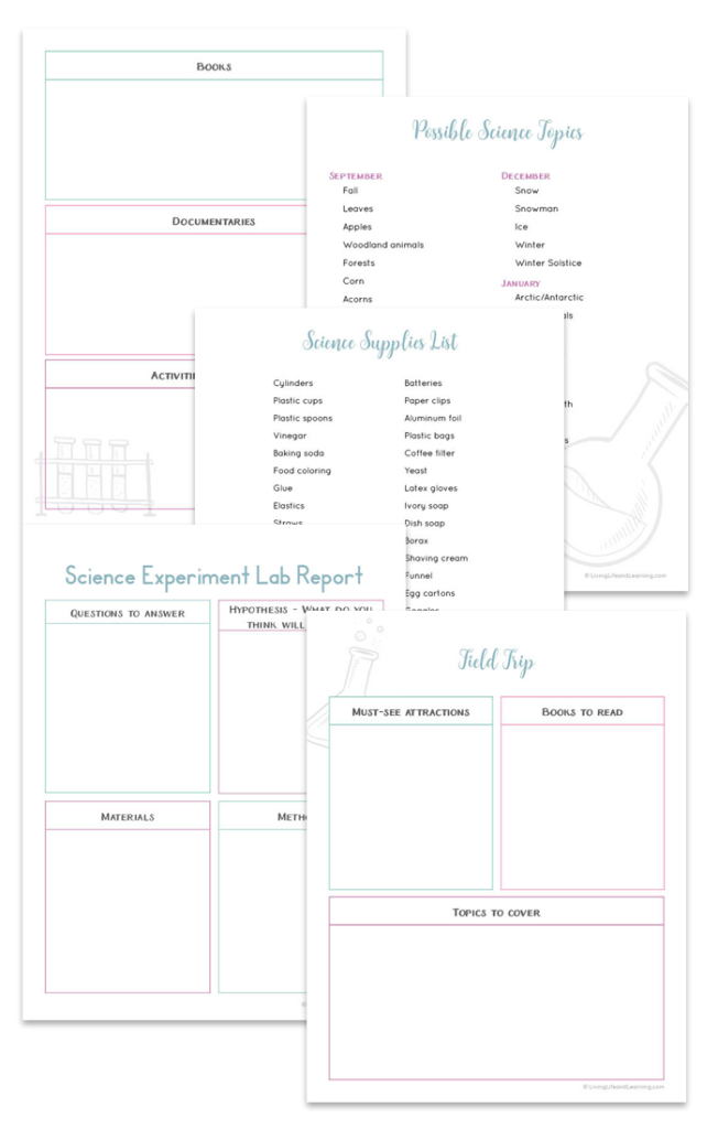 Science Unit Planner