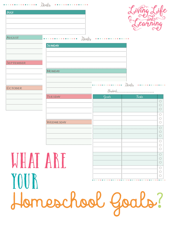 What are Your Homeschool Goals?