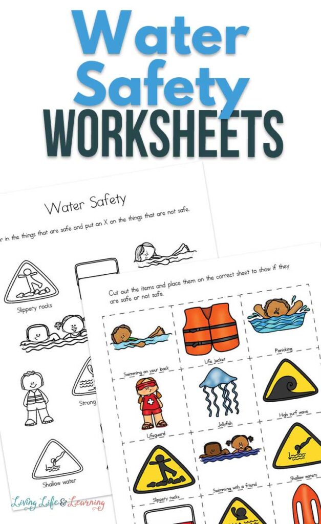 Water Safety Worksheets