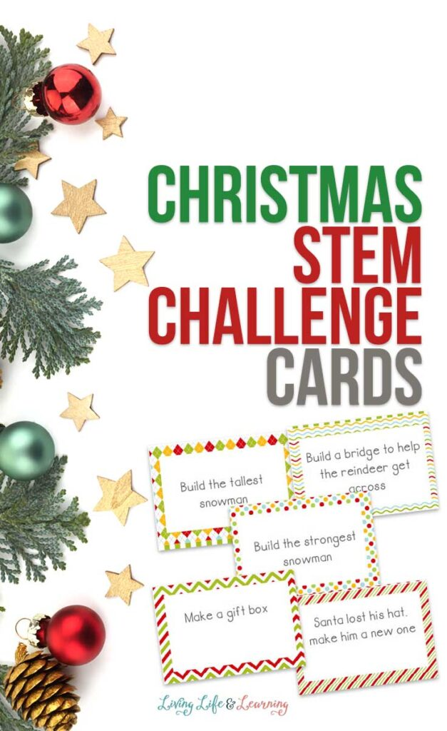 Christmas STEM Challenge Cards
