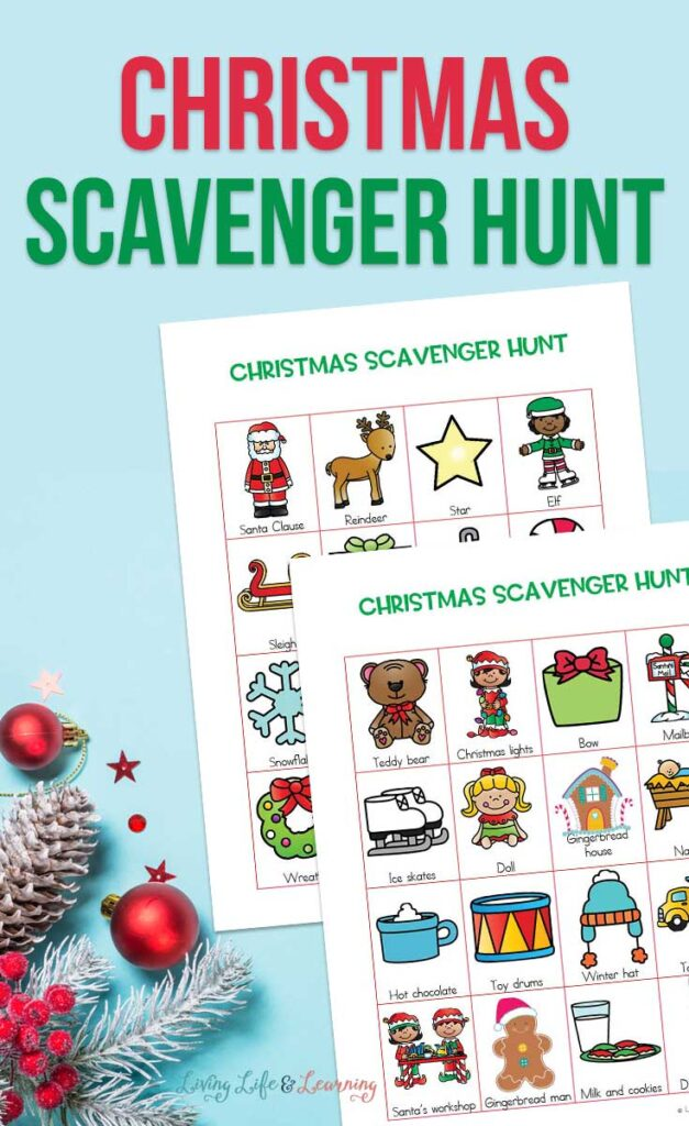 Christmas Scavenger Hunt for Kids