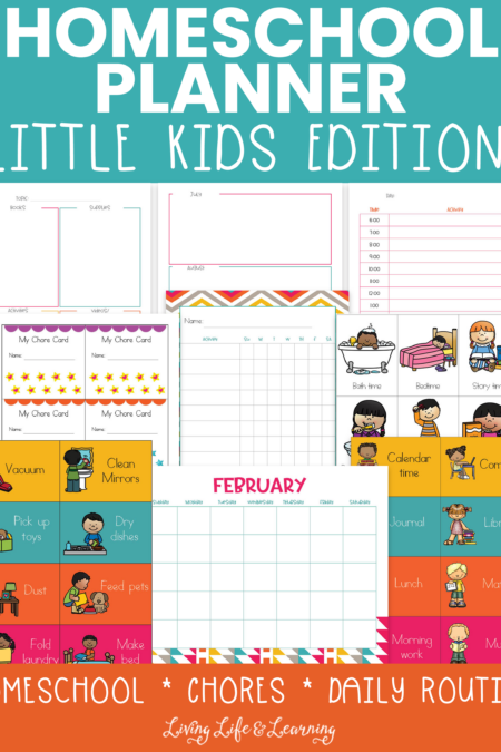 Homeschool planner little kids edition