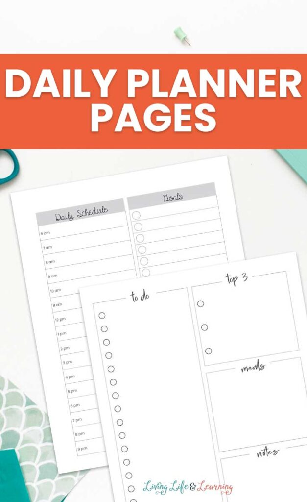 Daily Planner Pages